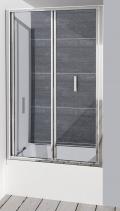 Polysan DEEP sprchové dveře skládací 1000x1650mm, čiré sklo MD1910