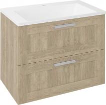Sapho AMIA umyvadlová skříňka 74, 5x60x45cm, dub Texas (AM075) AM075-2020