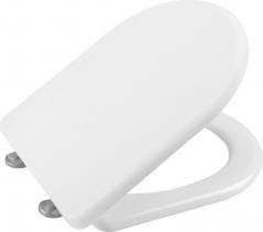 Sapho LENA WC sedátko, Soft Close, antibakteriální, bílá 1703-113