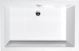 Polysan DEEP hluboká sprchová vanička, obdélník 130x75x26cm, bílá 72942