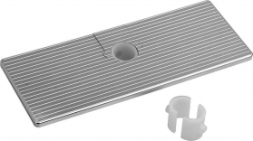 Sapho Posuvná polička pro tyče a sprchové sloupy, ABS/chrom SK111