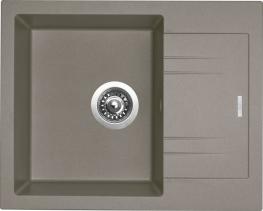 Granitový dřez Sinks LINEA 600 N Truffle SIGLI600480N54
