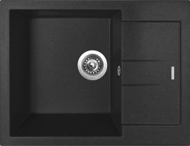 Granitový dřez Sinks AMANDA 650 Metalblack TLAM65050074