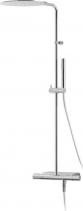 Alpi RHAPSODY-NU sprchový sloup s termostatickou baterií, mýdlenka, chrom NU84RM2151
