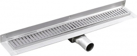Gelco MANUS ONDA nerezový sprchový kanálek s roštem, ke zdi, 850x112x55mm GMO24
