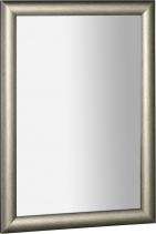 Sapho VALERIA zrcadlo v dřevěném rámu 580x780mm, platina NL393