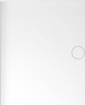 Polysan MIRAI sprchová vanička z litého mramoru, obdélník 120x80x1, 8cm, levá, bílá 73177
