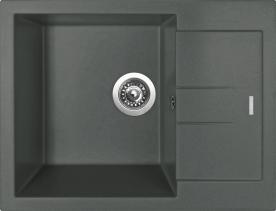 Granitový dřez Sinks AMANDA 650 Titanium TLAM65050072