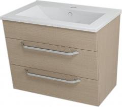 Sapho KALI umyvadlová skříňka 59x50x46cm, dub benátský 56065