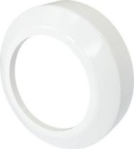 Nicoll Česká republika, s.r.o. Krycí rozeta nízká, pro připojovací kusy přímé a odtoková kolena,PP PR7094C (58301010000)