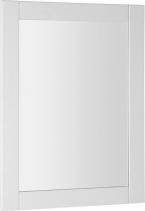 Aqualine FAVOLO zrcadlo v rámu 60x80cm, bílá mat FV060