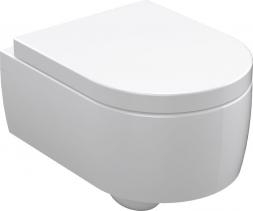 Kerasan FLO závěsná WC mísa, 36x50cm, bílá 311501