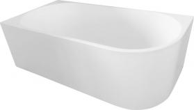 Aqualine TIBERA L volně stojící vana, 170x80 cm, bílá E1026