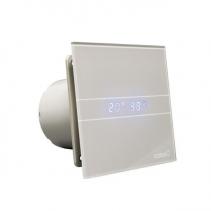 Cata E-100 GSTH koupelnový ventilátor axiální s automatem, 4W/8W, potrubí 100mm, stříbr 00900600