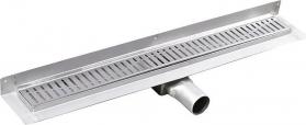 Gelco MANUS ONDA nerezový sprchový kanálek s roštem, ke zdi, 750x112x55mm GMO23