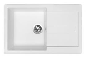 Granitový dřez Sinks AMANDA 780 Milk TLAM78050028