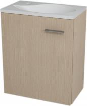 Sapho LATUS II umyvadlová skříňka 41, 6x50x25cm, Dub benátský 55591