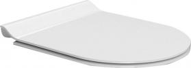 GSI NORM/PURA WC sedátko, SLIM, Soft Close, bílá/chrom MS86CSN11