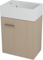 Sapho LATUS V umyvadlová skříňka 35, 6x40x23cm, Dub benátský LT061