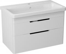 Sapho ELLA umyvadlová skříňka 76, 5x50x43cm, bílá (70080) EL080-3030