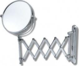 Novaservis Kosmetické zrcátko zvětšovací vytahovací chrom 6968,0