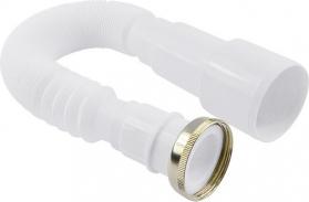 """Klum Hadice odpadní tvarovatelná flexi 5/4"""" x ø 50(40) mm, s mosaznou maticí PR7080C"""