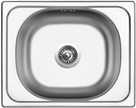 Nerezový dřez Sinks CLASSIC 500 V 0,5mm matný STSCLM5004005V