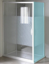 Gelco ETERNO sprchové dveře posuvné 1000mm, sklo STRIP GE6910