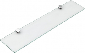 Aqualine SAMBA skleněná police 500mm, chrom SB115