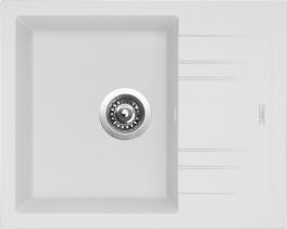 Granitový dřez Sinks LINEA 600 N Milk SIGLI600480N28