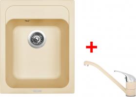 Granitový dřez Sinks CLASSIC 400 Sahara+CAPRI 4 GR UKC400CA450