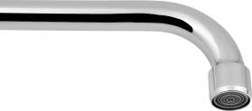 Sapho Výtoková hubice tvar S, prům. 18mm, L 227mm, 3/4', chrom 15S200