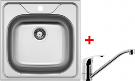 Nerezový dřez Sinks CLASSIC 480 6V+PRONTO CL4806VPRCL