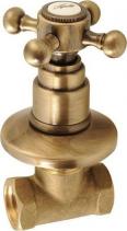 Reitano Rubinetteria ANTEA podomítkový ventil, teplá, bronz 3056H