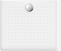 GSI Keramická sprchová vanička, obdélník 100x90x4, 5 cm 439211