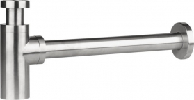 Sapho MINIMAL umyvadlový sifon 1'1/4, odpad 32 mm, nerez MI036