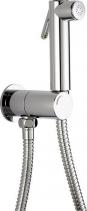 Sapho Nástěnný ventil s ruční bidetovou sprškou a bezpečnostní pojistkou, kulatý, chrom SG107