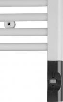 Enix Elektrická topná tyč s termostatem a dálkovým ovládáním, 300 W, D-tvar, antracit HVD-300A