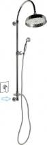 Reitano Rubinetteria VANITY sprchový sloup s připojením vody ze zdi, retro, chrom SET051