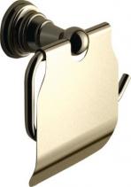 Sapho DIAMOND držák toaletního papíru s krytem, bronz 1318-17