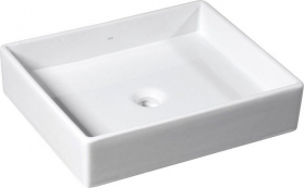 Isvea PURITY keramické umyvadlo 50x42cm, na desku 10PL66050