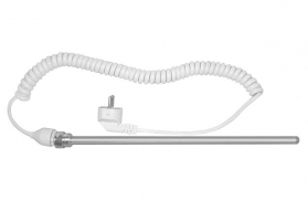 Aqualine Elektrická topná tyč bez termostatu, kroucený kabel, 400 W LT90400K