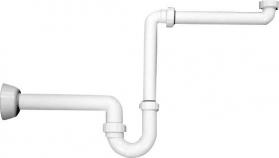Omp Tea Umyvadlový sifon šetřící místo 1'1/4-40mm, bílá 2126.054.6
