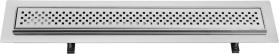 Sapho FLOW 67 nerezový sprchový kanálek s roštem, 670x150x82 mm FP136