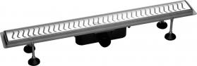 Polysan FLUE nerezový sprchový kanálek s roštem, 830x115x82mm 74578
