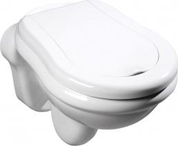 Kerasan RETRO závěsná WC mísa, 38x52cm, bílá 101501