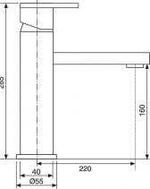 Sinks BOX N.Y. PLAZA lesklá MP68043