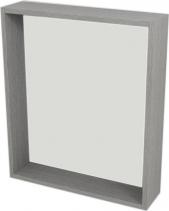 Sapho RIWA policové zrcadlo 60x70x15 cm, dub stříbrný RW611