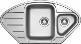 Nerezový dřez Sinks LOTUS 945.1 V+MIX 350P MP68284-LTL94518VMI350