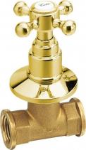 Reitano Rubinetteria ANTEA podomítkový ventil, teplá, zlato 3055H